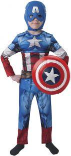 Disfraz Capitan America Escudo Caja Infantil L