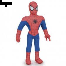 Peluche Standing Spiderman 80 Cm