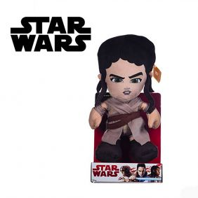 Peluche Star Wars Lead Hero Rey 25Cm