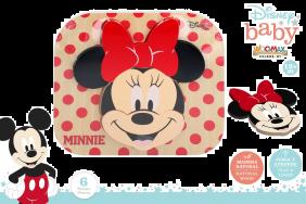 Puzzle De Madera Minnie 22X20 Cm