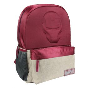 Mochila Escolar Instituto Avengers Iron Man 30cm.jpg