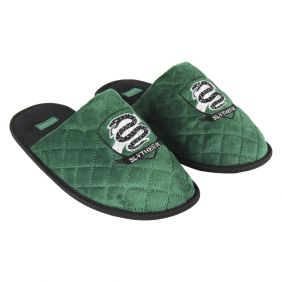 Zapatillas De Casa Abierta Premium Harry Potter Slytherin Adulto.jpg