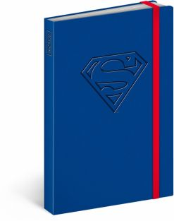 Libreta Superman – Logo, lined, 11 × 16 cm