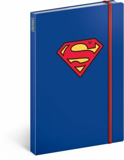 Libreta Superman – Logo, lined, 13 × 21 cm