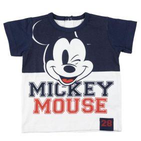 Camiseta Corta Mickey Bebe