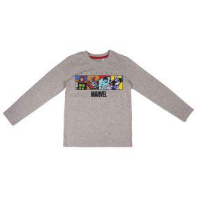 Camiseta Larga Single Jersey Avengers