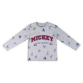 Camiseta Larga Single Jersey Mickey
