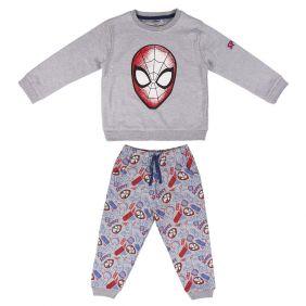 Chandal 2 Piezas Cotton Brushed Spiderman