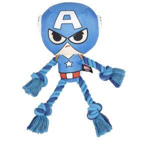 Cuerda Dental Para Perro Avengers Capitan America