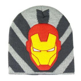 Gorro Con Aplicaciones Avengers Iron Man