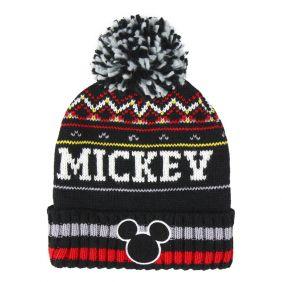 Gorro Jacquard Mickey