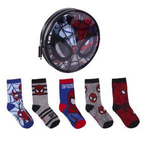 Pack Calcetines 5 Piezas Spiderman