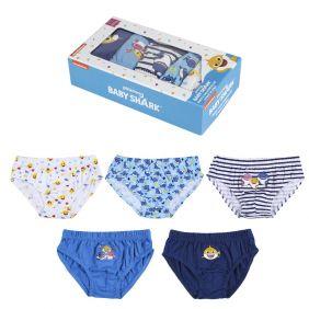 Pack Calzoncillos 5 Piezas Baby Shark