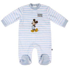 Pelele Bebe Velour Cotton Mickey