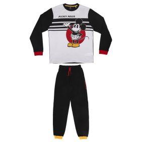 Pijama Adulto largo Interlock Mickey