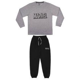 Pijama Adulto largo Single Jersey Marvel