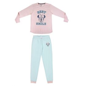 Pijama Adulto largo Single Jersey Minnie