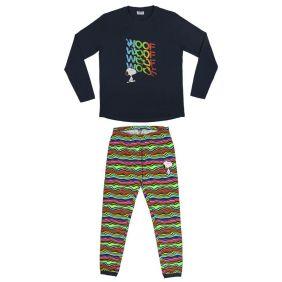 Pijama Adulto largo Single Jersey Snoopy