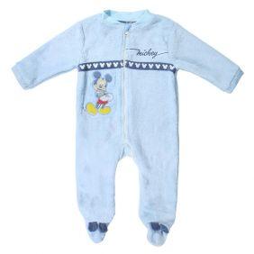 Pijama Bebe Dormilón Coral Fleece Mickey
