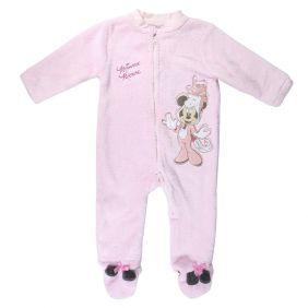 Pijama Bebe Dormilón Coral Fleece Minnie