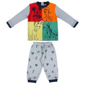 Pijama Bebe Largo Interlock Mickey