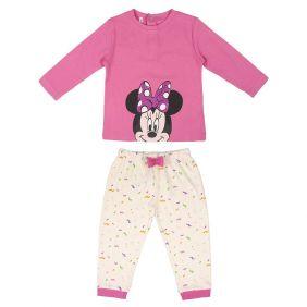 Pijama Bebe Largo Interlock Minnie