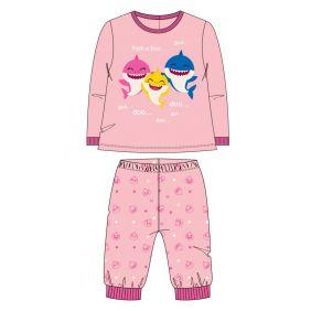 Pijama Bebe Largo Velour Cotton Baby Shark