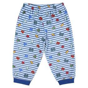 Pijama Bebe Largo Velour Cotton Mickey