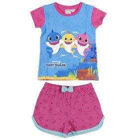 Pijama Corto Baby Shark