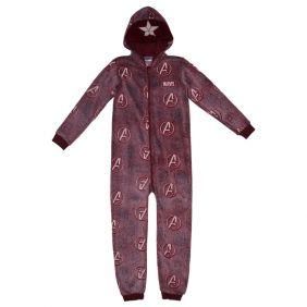 Pijama Dormilón Glow In The Dark Coral Fleece Avengers