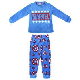 Pijama Largo Coral Fleece Marvel