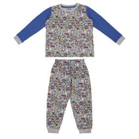 Pijama Largo Interlock Avengers