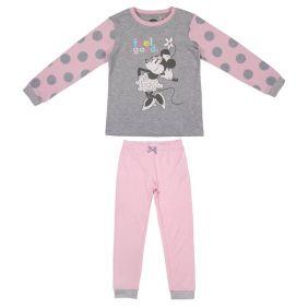 Pijama Largo Interlock Minnie