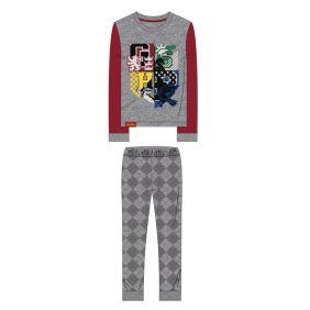 Pijama Largo Single Jersey Harry Potter