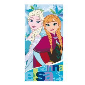 Toalla poliester Frozen, Elsa & Anna