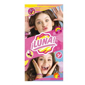 Toalla poliester baño, Soy Luna