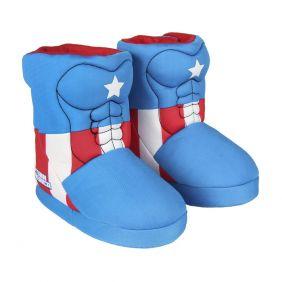 Zapatillas De Casa Bota Avengers