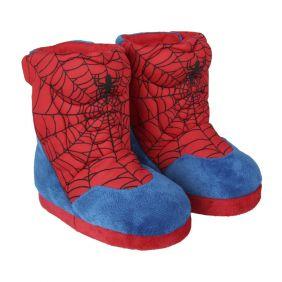 Zapatillas De Casa Bota Spiderman