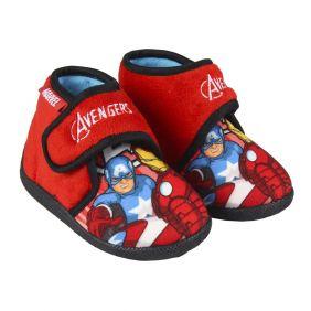 Zapatillas De Casa Media Bota Avengers