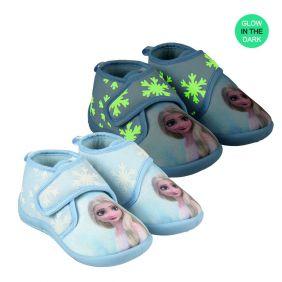 Zapatillas De Casa Media Bota Frozen 2