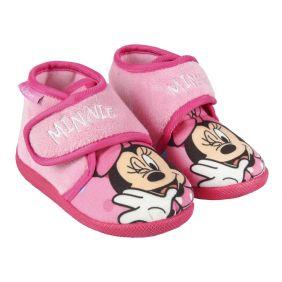 Zapatillas De Casa Media Bota Minnie