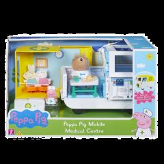 Ambulancia Y Centro Medico Peppa Pig Incluye Figura Brow Bear Y Peppa.