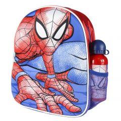 Mochila Infantil 3D Con Accesorios Spiderman 10 Cm