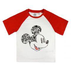 Camiseta Manga Corta Premium Diseño Mickey