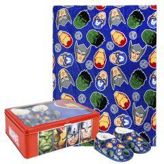 Set Caja Metálica Avengers