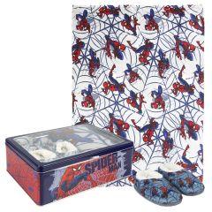 Set Caja Metálica Spiderman