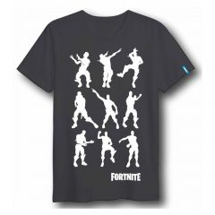 Camiseta Corta Dance Fortnite