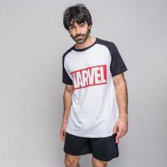 Pijama Corto Marvel Adultos
