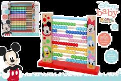 Abaco De Madera Mickey Y Minnie 27 Cm