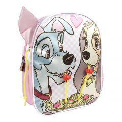 Mochila Infantil Personaje Clasicos Disney La Dama Y El Vagabundo 25cm.jpg